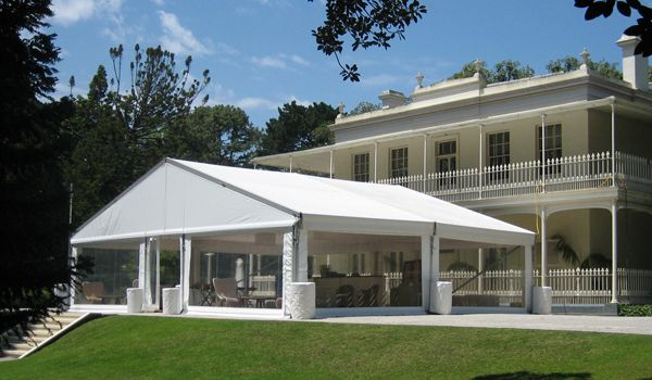 12m x 10m Clearspan Structure – Como Historic House & Garden