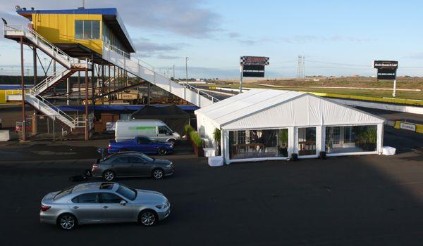12m x 13m Clearspan Structure – Calder Park Raceway