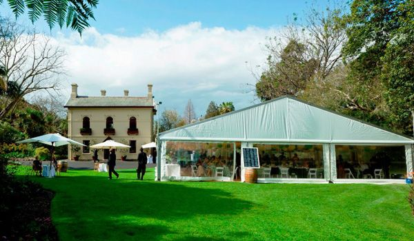 15m Clearspan Structure – Garden's House, Royal Botanic Gardens