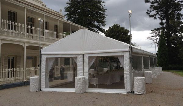 6m x 20m Clearspan Structure – Como Historic House & Garden