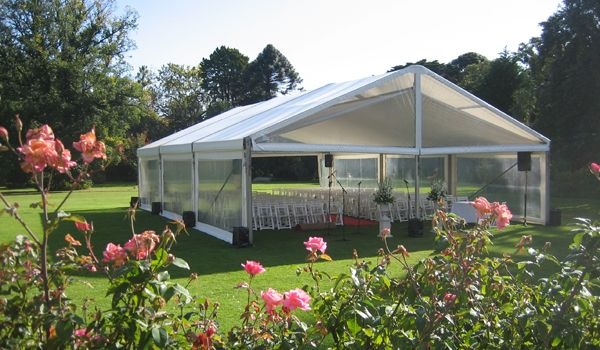 10m x 15m Clearspan Structure – Wedding Ceremony, Rippon Lea Estate