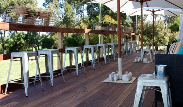 Custom Built Merbau Timber Decking & Rails