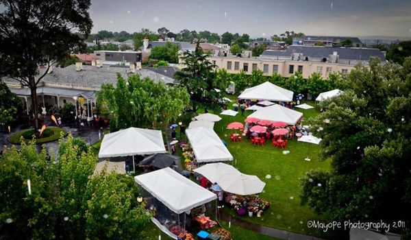 Fair Set-Up – Various Size Frame Marquees