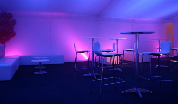 White Box Up-lights – Coloured Gels