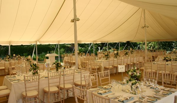 Centre Pole Up-Lights – Pole Marquee