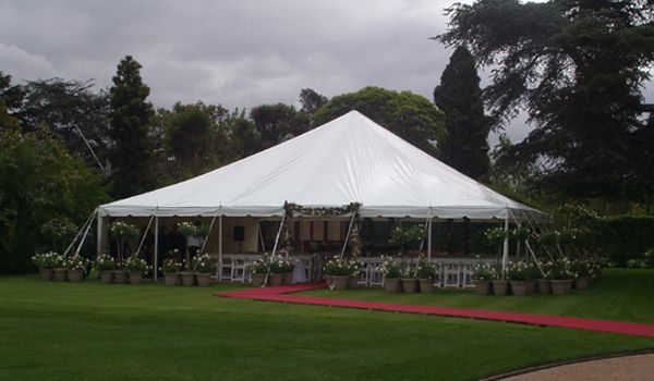 12m x 12m Pole Marquee