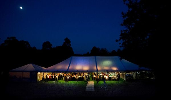 12m x 24m Pole Marquee – Royal Botanic Gardens