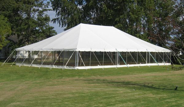 12m x 18m Pole Marquee