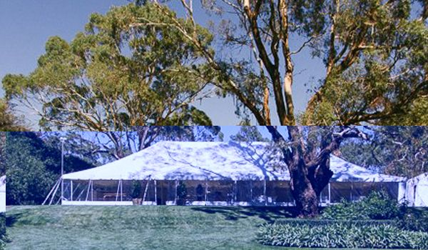 12m x 24 Pole Marquee