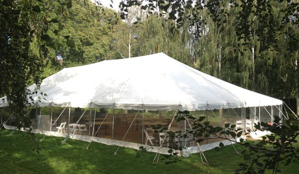 12m x 24m Pole Marquee